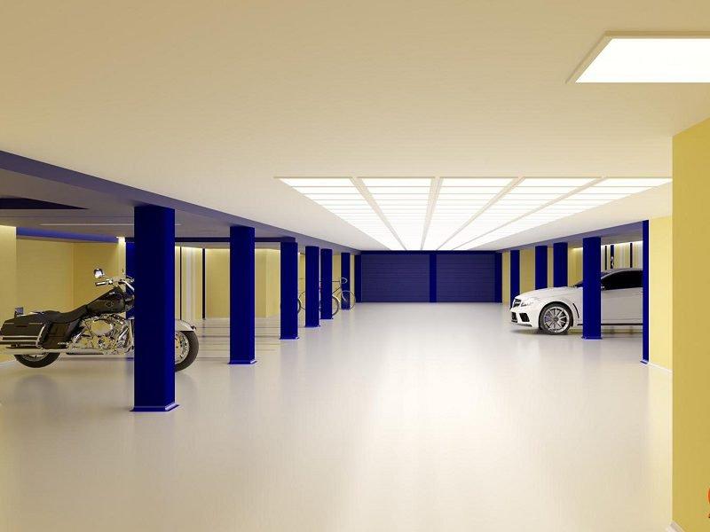 Proyecto De Interiorismo de Garaje – Marbella