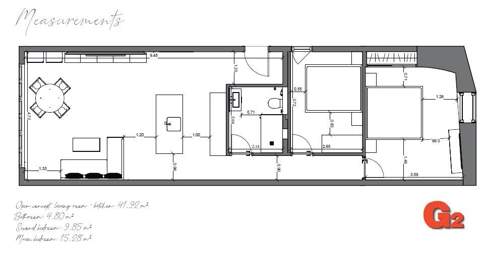 Levantamiento de planos en Marbella by G2 Arquitectura